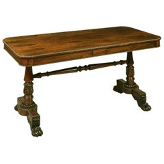Antique End Support Table Attributed to Gillows of Lancaster