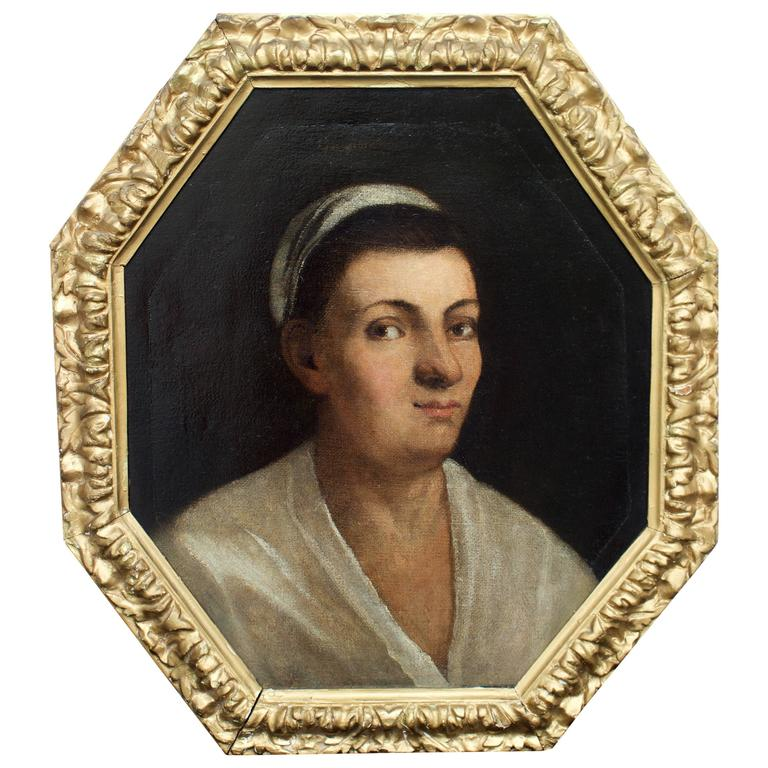 "18th Century Italian Portrait by ""Garrgiones"""