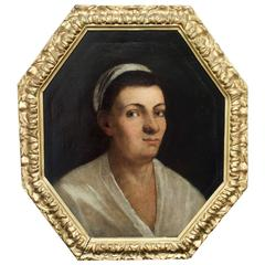 "18th Century Italian Portrait by ""Garrgiones"""
