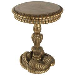 Interesting Side Table of the Early 19th Century