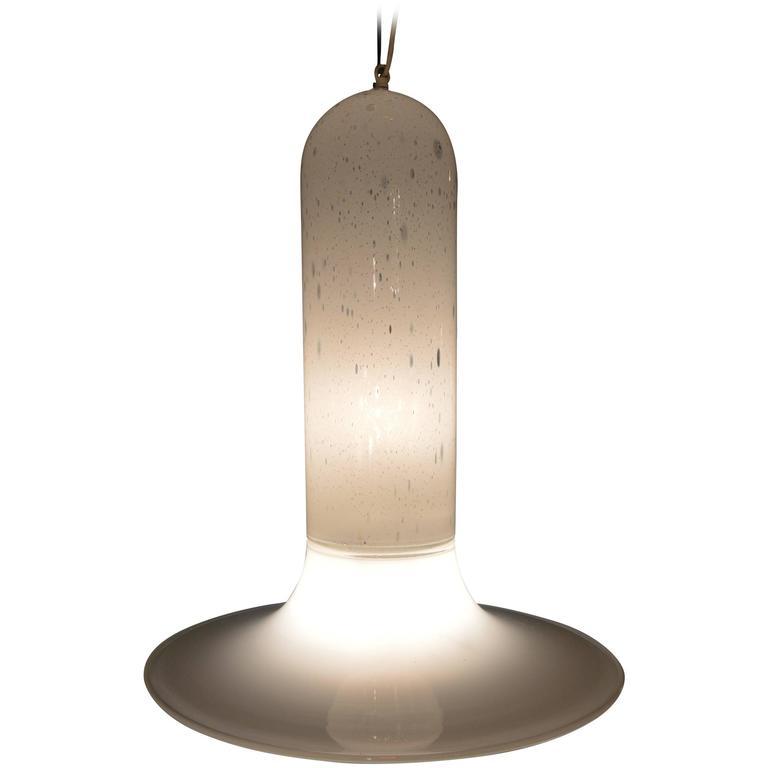 Very Large Murano Ceiling Lamp by Alfredo Barbini