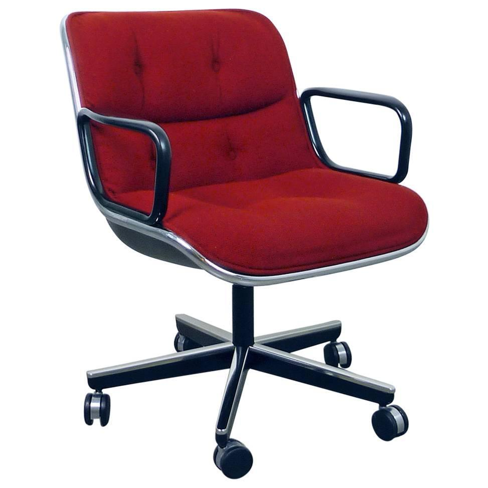 charles pollock office chair for knoll international usa 1960s for