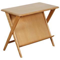 Heywood Wakefield Blonde Oak Side Table