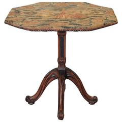 Louis Philippe Dessert Tables and Tilt-top Tables