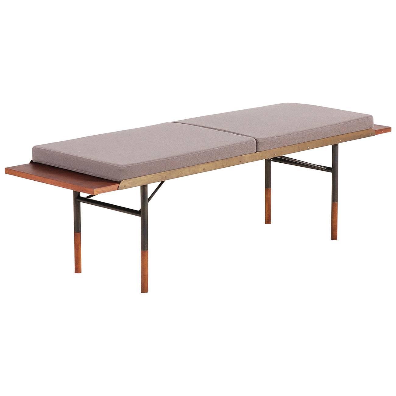 Jens risom floating bench for sale at 1stdibs - Finn Juhl Teak Coffee Table Bench For Bovirke 1952