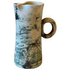 Large Ceramic Pitcher by Jacques Blin, France, 1950