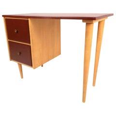 Mid-Century Modern Petite Writing Desk by J.B. Van Sciver Co