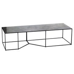 Y Series Coffee Table by Joshua Howe in Concrete and Metal