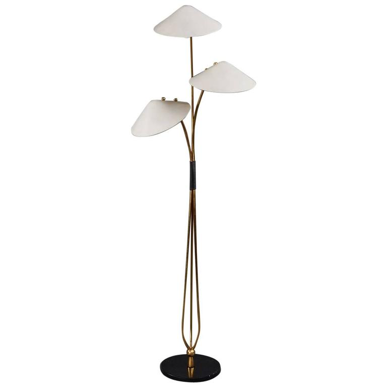 unique and beautiful french floor lamp for sale at 1stdibs. Black Bedroom Furniture Sets. Home Design Ideas