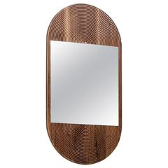 June Mirror by Coil + Drift in Walnut