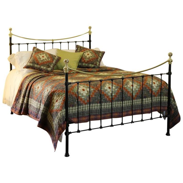 Black Victorian Bed Mk82 At 1stdibs