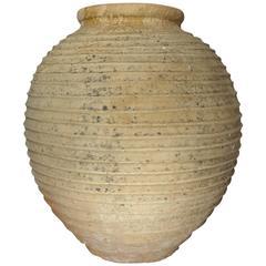 19th Century Mediterranean Terracotta Large Ampora Jar