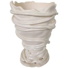 White Gaetano Pesce Vase