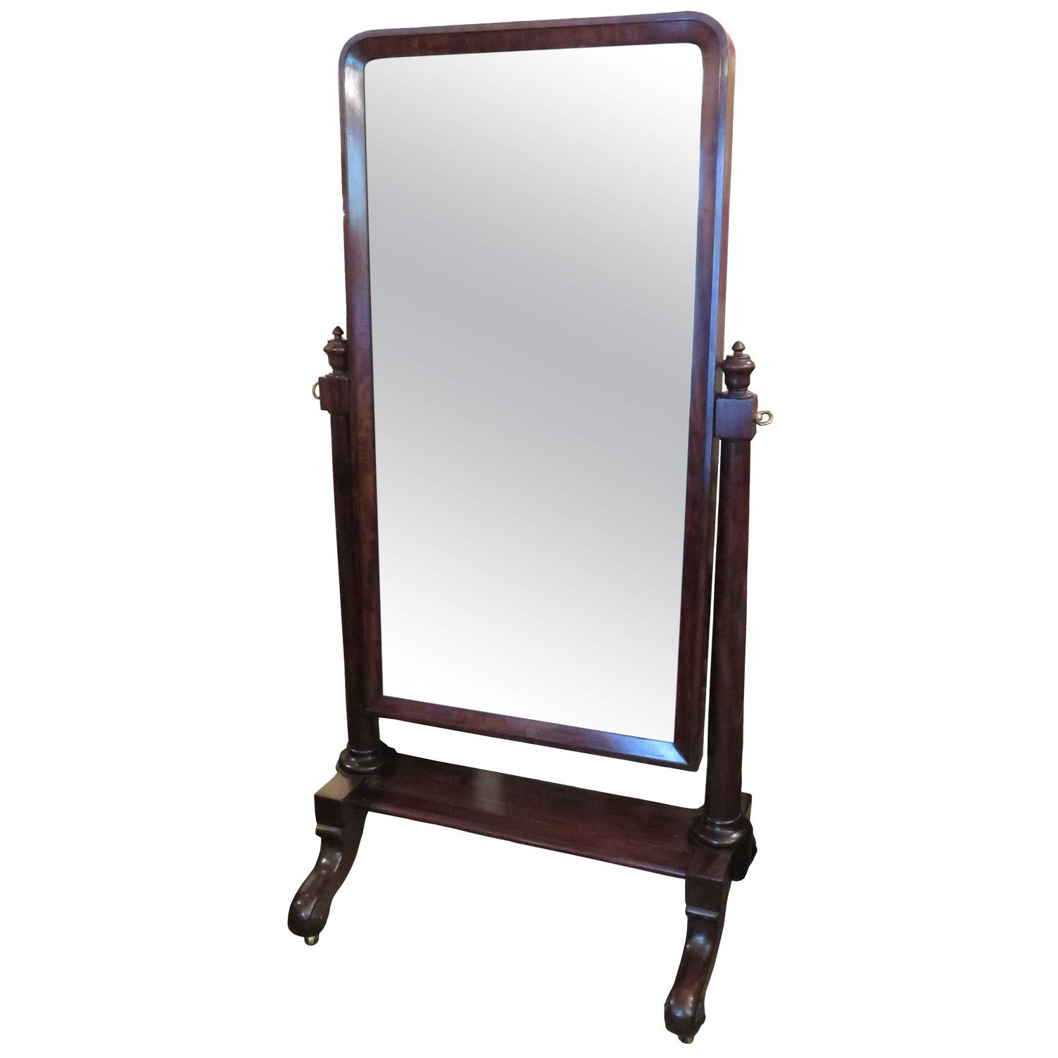 French cheval mirror for sale at 1stdibs for Floor length mirror for sale