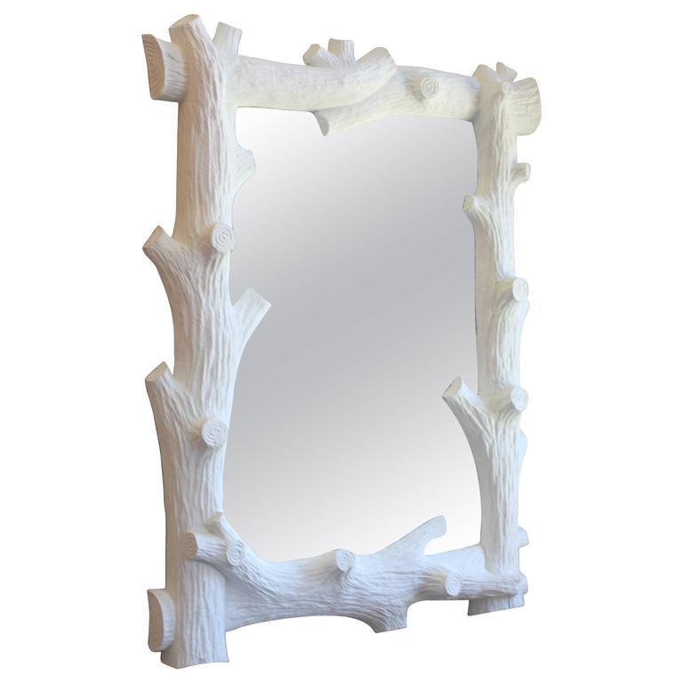 Faux Bois Gesso Mirror  1