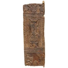 Superb Old Wooden Hut Door from Cameroon