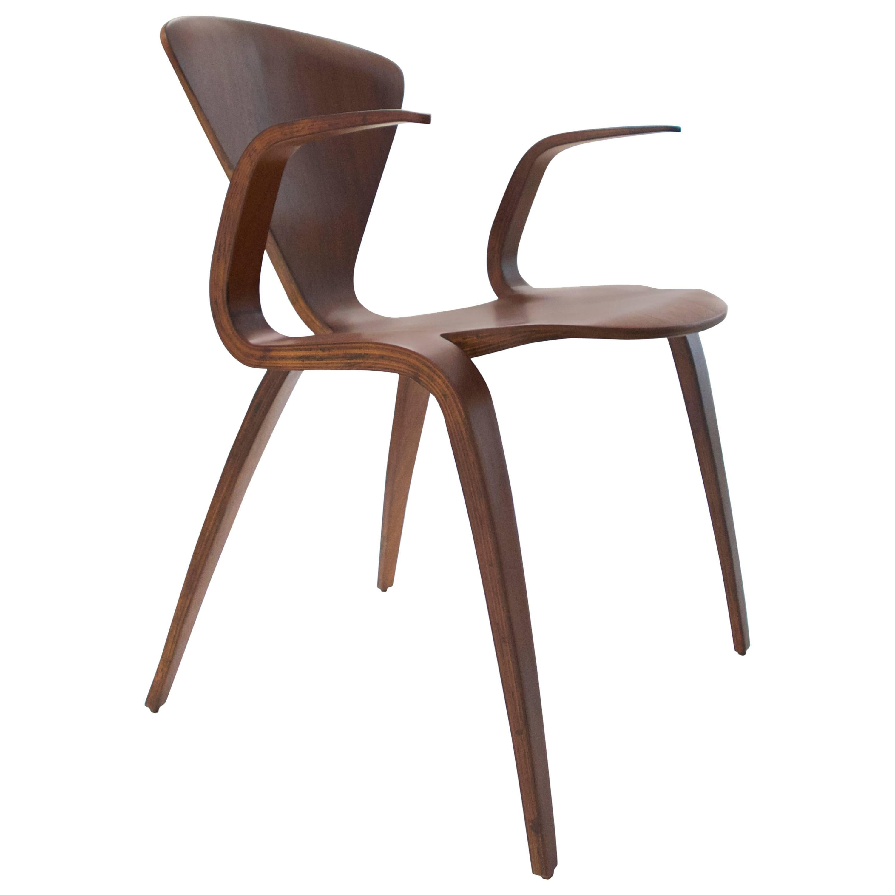 Norman Cherner Rare Prototype Armchair for Plycraft