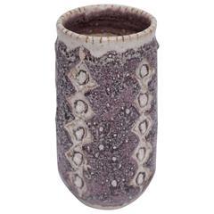 Signed Guido Gambone Vase