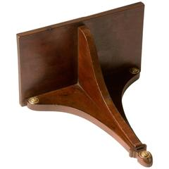 Early 19th Century Regency Mahogany Wall Bracket