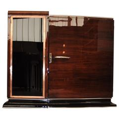 Asymmetrical Art Deco Commode or Bar