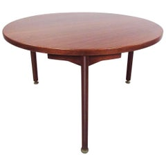 Vintage Jens Risom Design Teak Dining Table