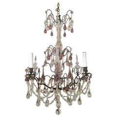 Antique French Baccarat Chandelier