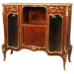 Wonderful Late 19th Century Vitrine Cabinet by François Linke