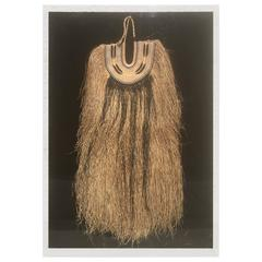 Large African Costume in Plexiglass Case from Steve Chase Palm Springs Estate