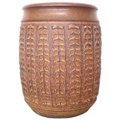 Large Stoneware Bob Kinzie Planter Pot