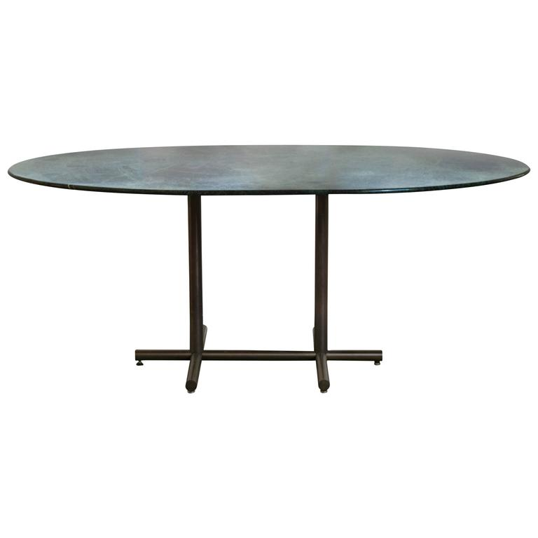 Vintage Dark Green Marble Dining TableDesk For Sale at  : 5628363l from www.1stdibs.com size 768 x 768 jpeg 13kB