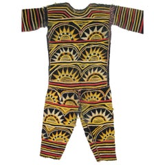 African Igbo Appliqued Fabric Dance Costume