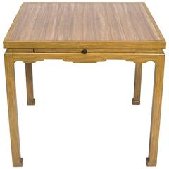 James Mont Style Card Table