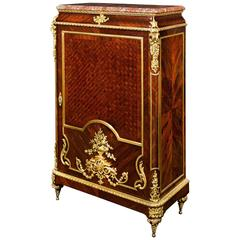 Louis XIV Inspired French Linen Press