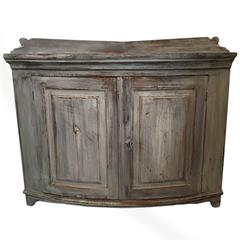 19th Century Swedish Gustavian Corner Sideboard