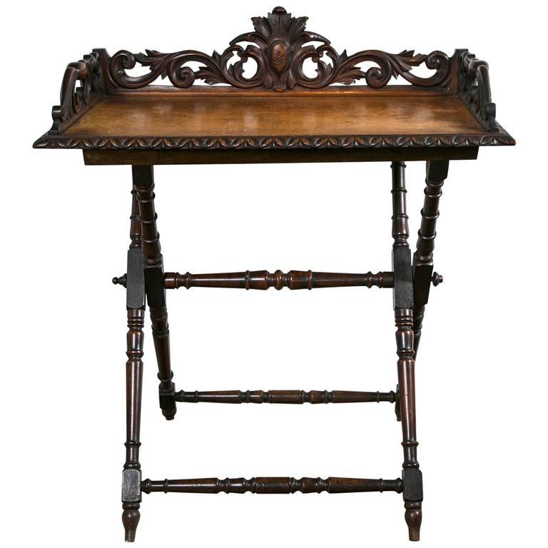 19th Century English Tray Table