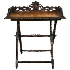 19th Century English Tray Table