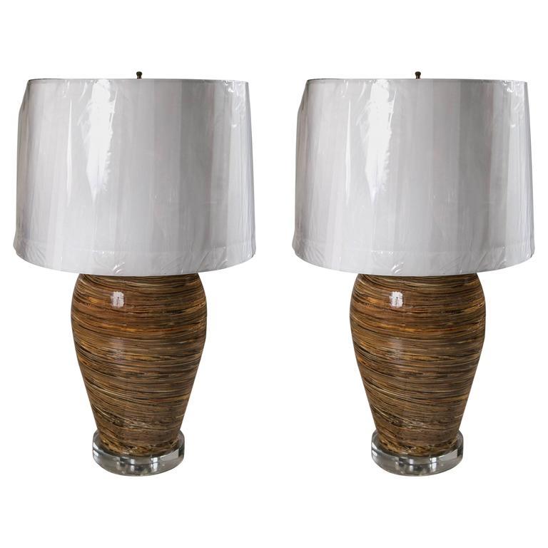 Apt Pottery Lamps