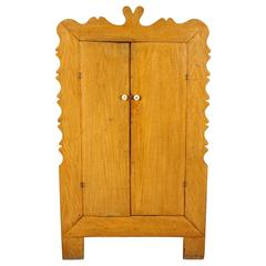 Early American Spanish Cupboard with Curved Details