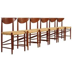 Set of Six Hvidt & Mølgaard Dining Chairs