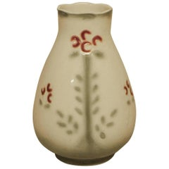 Rörstrand Art Nouveau Vase in Faience, Early 20th Century