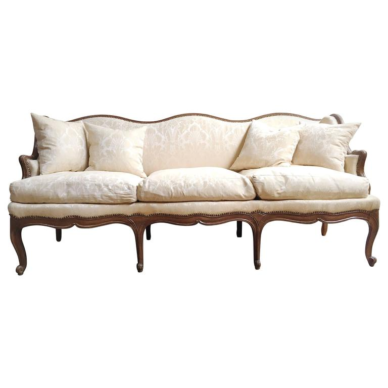 French regency canap with two fauteuils for sale at 1stdibs for Canape for sale
