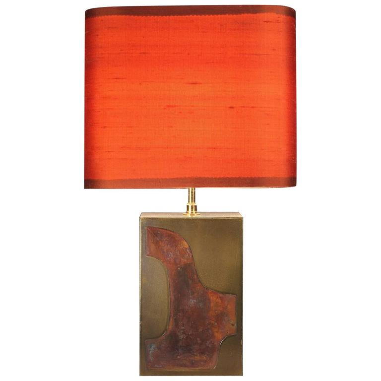 1970s Table Lamp in the Taste of Pierre Cardin
