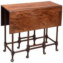 Charming George III Mahogany Spider Table