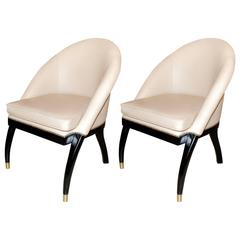 Pair of Side Chairs by Shelby Williams