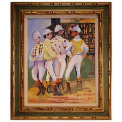 Ferdie Pancheco Painting of Jockey