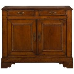 Antique French Louis Philippe Walnut and Oak Buffet, circa 1860