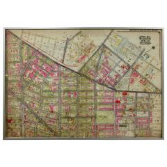 Rare 1916 of Bushwick Brooklyn, Brooklyn Map #5