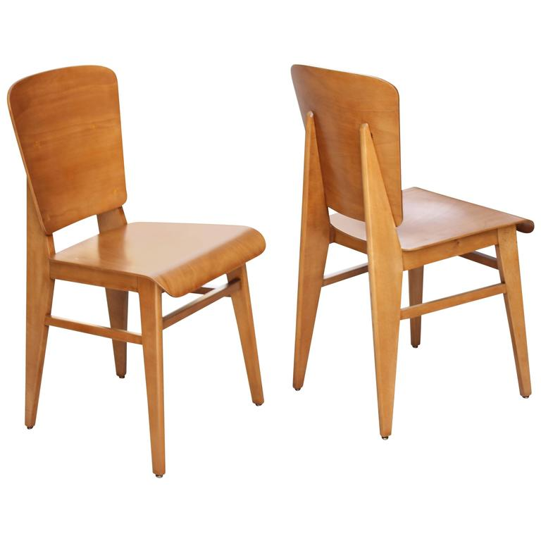 Pair of French Bentwood Chairs 1
