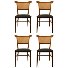 Four McCobb Bowtie Dining Chairs