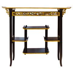 Anglo-Japanese Side Table Design Made by Heals